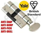 Yale Superior Thumb Turn Euro Locks. All Sizes in Stock, Official Yale Dealer