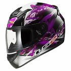 LS2 FF352 FLUTTER BLACK PINK PURPLE FULL FACE MOTORCYCLE MOTORBIKE CRASH HELMET