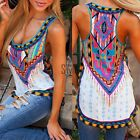 Summer Women Ladies Casual Vest Top Sleeveless Shirt Blouse Tank Tops TXST