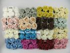 18 x  6cm FOAM ROSES Mix n Match your colours ARTIFICIAL WEDDING FLOWERS