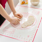 1PC Silicone Cake Dough Rolling Oven Sheet Pastry Fondant Pad Baking Mat 60*40cm