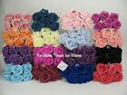 60 FOAM ROSES 5cm Mix n  Match colours ARTIFICIAL WEDDING FLOWERS DECORATION