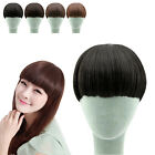 Neat Bang Fringe Clip-In/On Short Girls Womens Hair Extensions