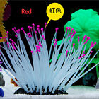 Artificial Silicone Sea Anemone Coral Ornament for Aquarium Fish Tank Decoration