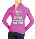 **INSPIRE ME***LADIES FITNESS JACKET...HIT THE GYM..ALL SIZES AVAIL