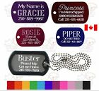DOG CAT PET TAGS CHARM CUSTOM ID FREE DEEP DOUBLE SIDED DIAMOND ENGRAVED NAME <br/> DEEP DIAMOND ENGRAVED &amp; NOT LASERED FREE FAST SHIPPING