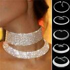 Fashion Women Crystal Rhinestone Collar Choker Necklace Wedding Jewelry Gifts LJ