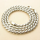 """4MM 925 STERLING SILVER EP BALI TWIST CHAIN NECKLACE 18"""", 20"""", 24"""" INCH"""