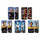 STAR TREK ICONIC CHARACTERS VOY BLACK BUMPER SLIDER CASE FOR APPLE iPHONE PHONES