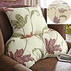 Kinsale Floral Back Support Cushion Ideal For Arm Chair, Sofa Or Wheel Chair