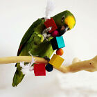 1X Pet Birds Parrot Blocks Toy Cages African Grey Cockatoo Parakeet Chew Toy FM