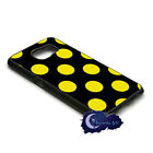 Stinger Polka Dot, Black and Yellow - Case for Samsung Galaxy S6, Phone Cover