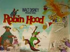 Vintage Disney Robin Hood Movie Poster 2 A3/A2/A1 Print