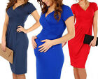 Pregnant Women Maternity Dress Soft Casual Clothes Stretchy Dress New Costume