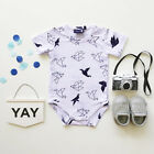 Newborn Baby Girl Boy Clothes Bodysuit Romper Jumpsuit Outfits One-pieces 0-24M