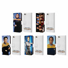 STAR TREK ICONIC CHARACTERS VOY LEATHER BOOK WALLET CASE FOR APPLE iPHONE PHONES
