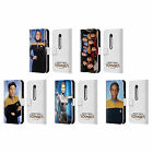 OFFICIAL STAR TREK ICONIC CHARACTERS VOY LEATHER BOOK CASE FOR MOTOROLA PHONES