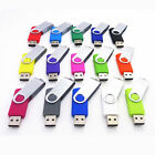 16GB 8GB 4GB Swivel USB 2.0 Flash Drive Memory Thumb Key Stick Pen Storage Disk