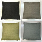 "UK MADE NEXT SEASON  QUALITY THICK JUTE FABRIC CUSHION COVERS 17"" X 17"""