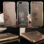Crystal Diamond Transparent Back Case Cover For IPhone5 5S 6 / 6 Plus
