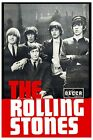Vintage 1960's Decca Records Rolling Stones Promotional Poster  A3 Print