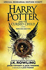 Harry Potter and the Cursed Child Parts 1 2 Brand New Book Free Delivery