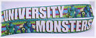 Monster Colorful Favorite Children Movies Shows Inspired Grosgrain Ribbon 7/8""