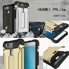 New Rugged Dual Layered Shock Proof Slim Protective Armor Case Cover For Huawei
