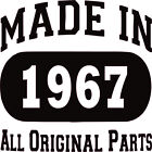 Uink Design 50th Birthday Gift Made in 1966 All Original Parts Men's T-shirt