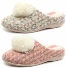 New Dunlop Adeline Womens Slipper Mules ALL SIZES AND COLOURS
