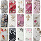 Hot Style Bling Crystal PU Leather Card Wallet Case Stand Cover For Oneplus