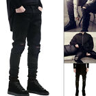 Brand New Men Fashion Straight Biker Jeans Pants Skinny Denim Ripped Trousers