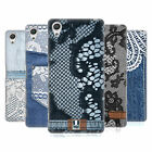 HEAD CASE DESIGNS JEANS AND LACES HARD BACK CASE FOR SONY XPERIA X PERFORMANCE