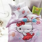 Hello Kitty with Balloons King Queen & Twin Size Duvet Cover Bedding Set Kids