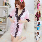Sexy Women's Pajamas Nightwear Sleepwear Robe Bathrobe Loungewear Robes Dresses