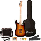 Electric Guitars - Rise By Sawtooth Beginner Electric Guitar Kit With Amp Accessories