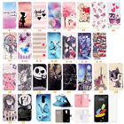 Flip Leather Wallet Case Rubber Skin Stand Cover For LG G Stylo Stylus DAB Plus