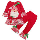 Kids Girls Christmas Costume  Outfits Tops Dress+ Pants Clothes Size 2 3 4 5 6 7