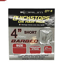 Korum 4 Inch Quickstops On Hair Rigs BARBED