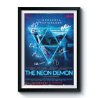 THE NEON DEMON PP Signed Poster rpt A4 5x7 Elle Fanning Christina Hendricks