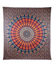 Queen Hippie Indian Tapestry Peacock Mandala Throw Wall Hanging Gypsy Bedspread