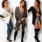 Women Long Sleeve Knitted Cardigan Loose Sweater Outwear Jacket Coat Sweater New