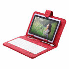 """iRULU 7"""" 8GB/ 16GB Tablet PC Android 4.4 Quad Core with Keyboard Pad Multi-color"""