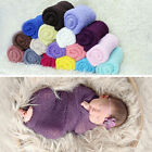 40X150CM Trendy Cotton Soft Newborn Wrapped Cloth Baby Photography Props 0-24M
