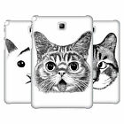 OFFICIAL TUMMEOW CATS IN BLACK AND WHITE BACK CASE FOR SAMSUNG TABLETS 1