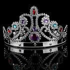 Acrylic Rhinestone Party Queen Crown (2 Colors)