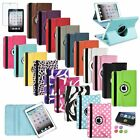 360 Leather Case Cover+Guard/Sticker For iPad Mini 1 2 3ith Retina Display