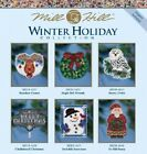 Mill Hill - Winter Holiday 2016 Ornament/Magnet -Multiple Designs to Choose From