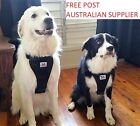 Dog Harness FREE seat belt loop M, L and XL FREE POST- suitable easy walk & car