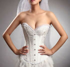 Women Waist Trainer Cincher Body Shaper Shapewear Bridal Wedding Dress Basques